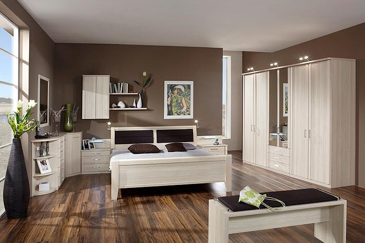 Awesome Chambre Adulte Marron Turquoise Pictures - House ...