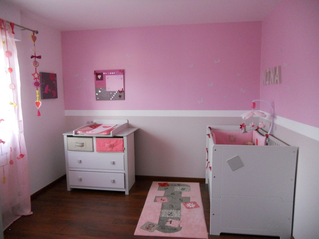 Idees Peinture Chambre Fille Champagne Godme